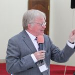 Dr Howard Barnes preaching