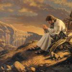 Jesus prepares in the wilderness